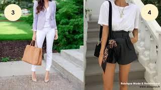 12 Façons d'être Class avec un T-shirt Blanc