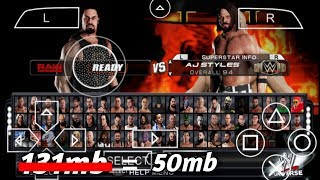 how to download wwe 2k18 for android ppsspp 50mb