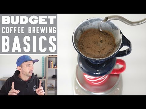 Budget Coffee Brewing Basics - Top 5 Home Coffee Brewing Tools | Real Chris Baca