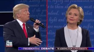 Part 4 of second presidential debate at Washington Univ.