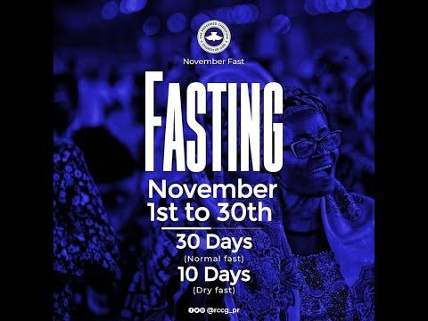 DAY 12 - RCCG November 2019 Prayer & Fasting