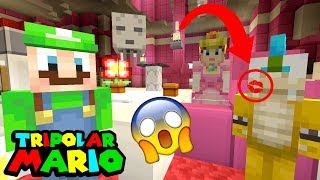 WE CAUGHT HIM DOING WHAT WITH PEACH?! *OMG* | Luigi's Fun Mansion | Minecraft Switch [23]