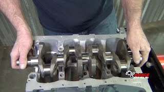 How To Rebuild A 1.3L Suzuki Samurai Engine (Part 1) Crankshaft Installation