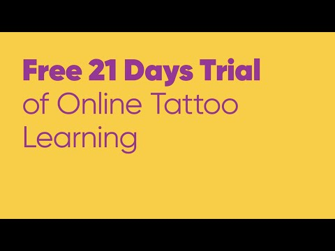 Online Tattoo Courses - 21 Days Free Trial on Learn It Like Aliens ...
