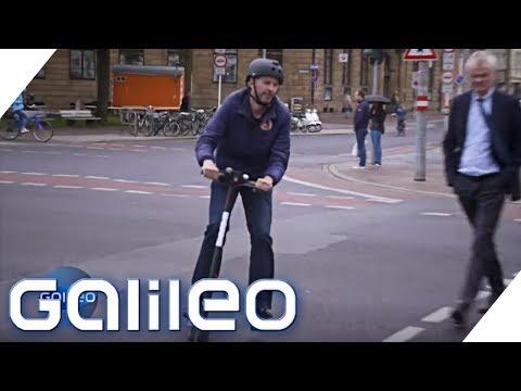 E-Scooter: Der Praxistest | Galileo | ProSieben
