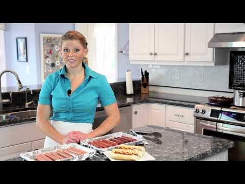 How to Cook Hot Dogs in the Oven by Broiling or Baking : Home-Cooked Meals