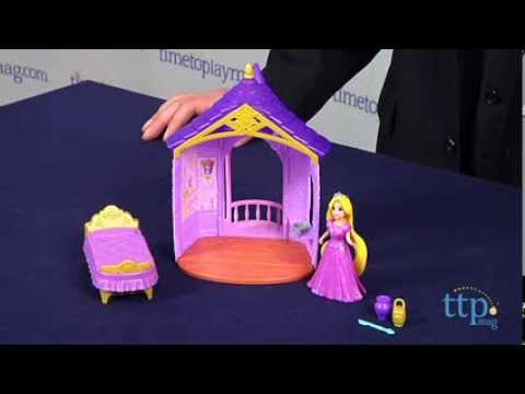 Disney Princess Little Kingdom Rapunzel's Flip n Switch Castle from Mattel