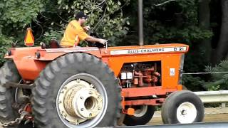 allis chalmers d21 pulling tractor for sale - Kênh video