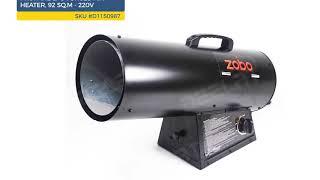 Propane LPG Forced Air Heater - 92 sq.m - 220V