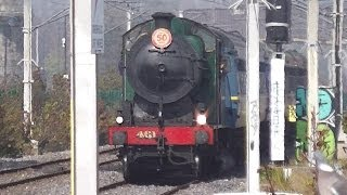 preview picture of video 'RPSI Loco 461 - Easter Shuttle, Blackrock (different view)'