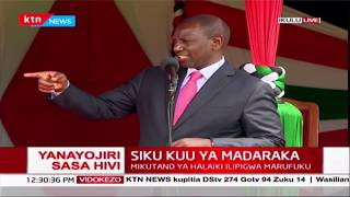 DP Ruto\'s story on how his daughter reminded him to use a sanitizer