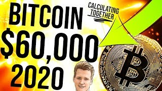 BITCOIN $60K – By 2020 Calculation 📈 Stock to Flow, Regression, R2 – Programmer explains