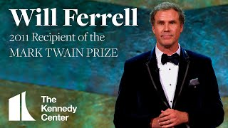 Will Ferrell Acceptance Speech | 2011 Mark Twain Prize