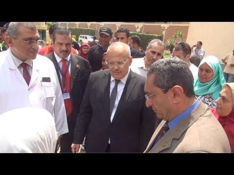 رئيس جامعة القاهرة  نتيجة تحليل فيروس سي للطلاب: سرية والعلاج مجانا