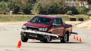 Revised Toyota Hilux now handles the moose test