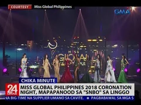 """[GMA]  Miss Global Philippines 2018 coronation night, mapapanood sa """"SNBO"""" sa Linggo"""