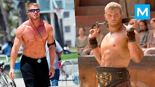 Kellan Lutz Workout For Hercules | Muscle Madness