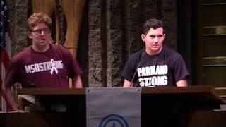 Parkland Shooting Survivor Harris Jaffe Speaks at Menendez Rally Against Gun Violence