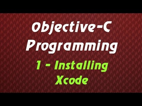 Objective C Programming – Tutorial 1 – Installing Xcode