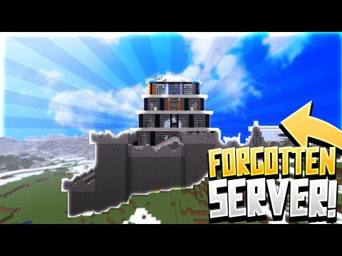 Beta minecraft 1 A server and the new base setup!!! - смотреть