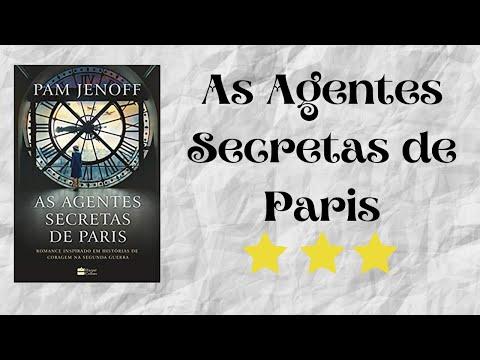 Resenha #08 - As Agentes Secretas de Paris de Pam Jenoff