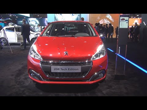 Peugeot 208 Tech Edition PureTech 110 S&S BVM6 5-doors (2019) Exterior and Interior