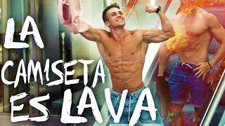 LA CAMISETA ES LAVA 🔥  The T-Shirt Is Lava Challenge