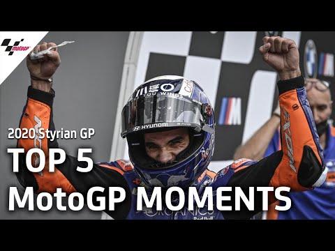 ミゲル・オリヴェイラ(Red Bull KTM Tech3)が初優勝!MotoGP スティリアGP 決勝レースハイライト動画