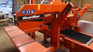 2014 WoodMizer HR115 Tilting Head Resaw