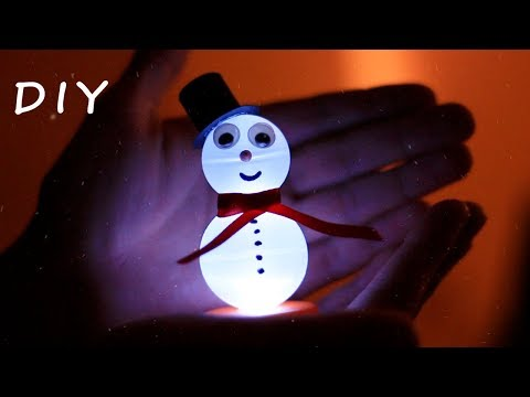 DIY Electronic Snowman – Decoration For Christmas