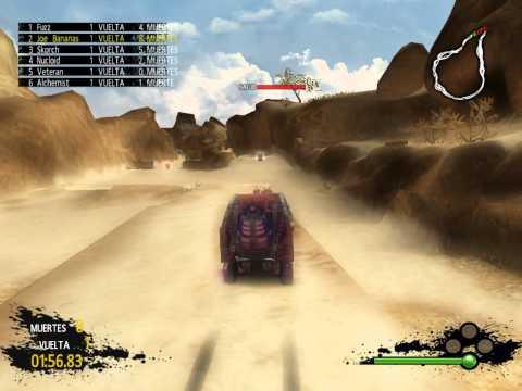 Gameplay de PAM Post Apocalyptic Mayhem