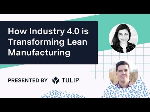 Comment l'industrie 4.0 transforme la fabrication au plus juste | Webinaire sur la fabrication