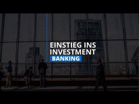 Einstieg ins Investment Banking - Online Kurs (Promovideo)