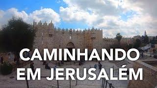 Andando Em Jerusalem, Tenha A Sensação De Estar Passeando Pelas Ruas Da Cidade Santa