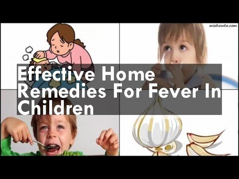 Video Home Remedies For Fever In Children