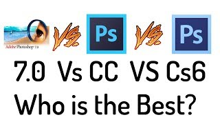 Who is the Best Photoshop ( 7.0 vs CC vs CS ) in Hindi / Urdu.