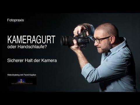 Kameragurt oder Handschlaufe?