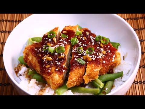 Teriyaki Tofu Katsu