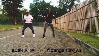 Distruction Boyz Gqom is the future 🔥new bhenga dance for December Vosho (Must watch) DangerFlex