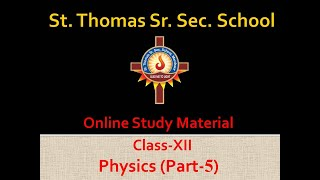 Physics(Part 5)- Online Study Material For Class XII  IMAGES, GIF, ANIMATED GIF, WALLPAPER, STICKER FOR WHATSAPP & FACEBOOK