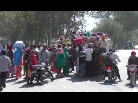 राजपूतों से विवाद के बाद दलित परिवारों ने छोड़ा गांव