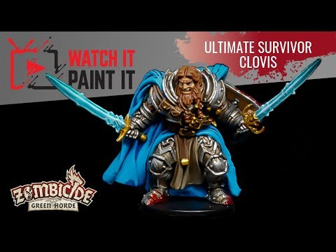 Zombicide Green Horde - Painting Ultimate Survivor Clovis