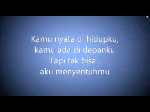 Kamu nyata with Lyrics Acoustic - Izzy - (Ost. D'bijis)