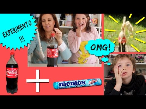 mentos cola youtube
