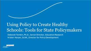 Children Health and Wellness Policy Analysis in Tennessee