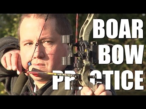 Boar Bow Practice