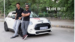 A Very Loud Mini Cooper S JCW in India | Reaction Video  Ft. Lee Keshav