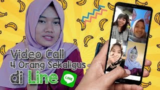Review dan Tutorial Video Call Grup Line