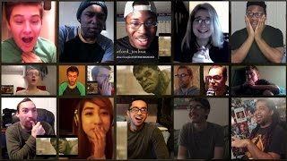 "Avengers 2: ""Age Of Ultron"" - Trailer 2 (Reaction Mashup Part 2 of 2) - collab with AdikTheOne"