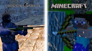 Minecraft in Counter-Strike - Animation